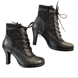 Demonia Lacework Glam Boots